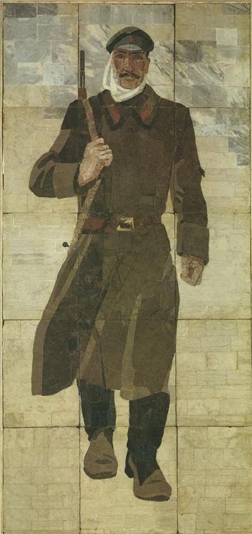 Александр Александрович Дейнека. Красногвардеец