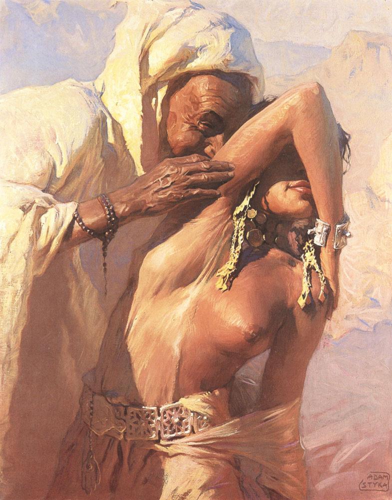 Adam Butt. Seduction in the desert