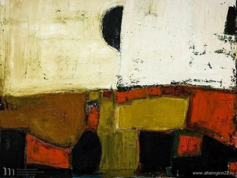 Igor Vasilyevich Kislitsyn. Abstract composition