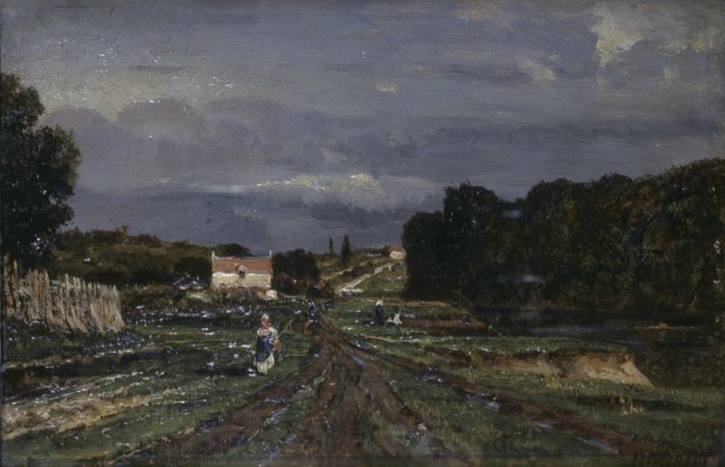 Алексей Петрович Боголюбов. После дождя