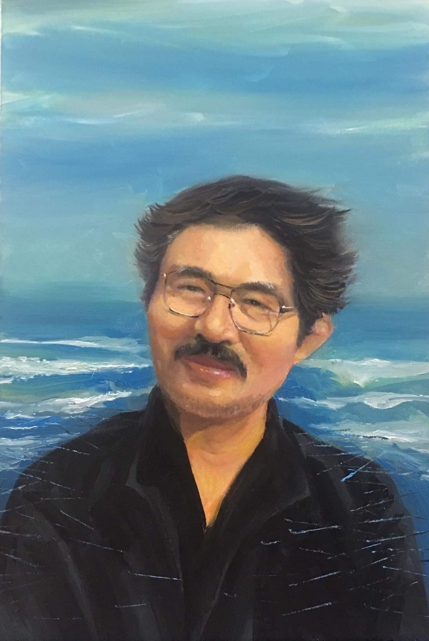 Diego Ricardo. Artist oil painting