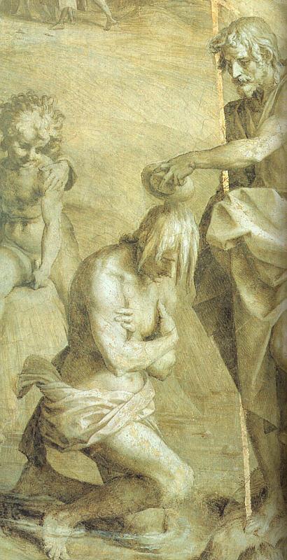 Андреа дель Сарто. Крещение