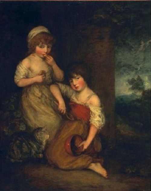 Thomas Gainsborough. Young Hobbies and Gandarela