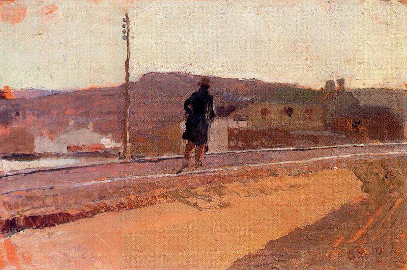 Хоакин Соролья (Соройя). Пейзаж с фигурой
