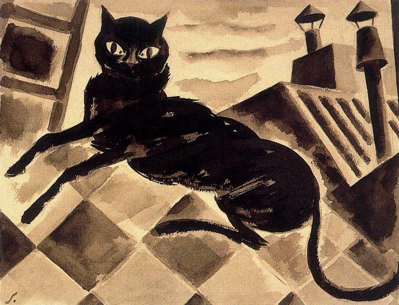 Артуро Соуто. Черный кот