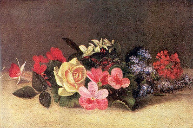 Эвелина Гора. Яркие цветы