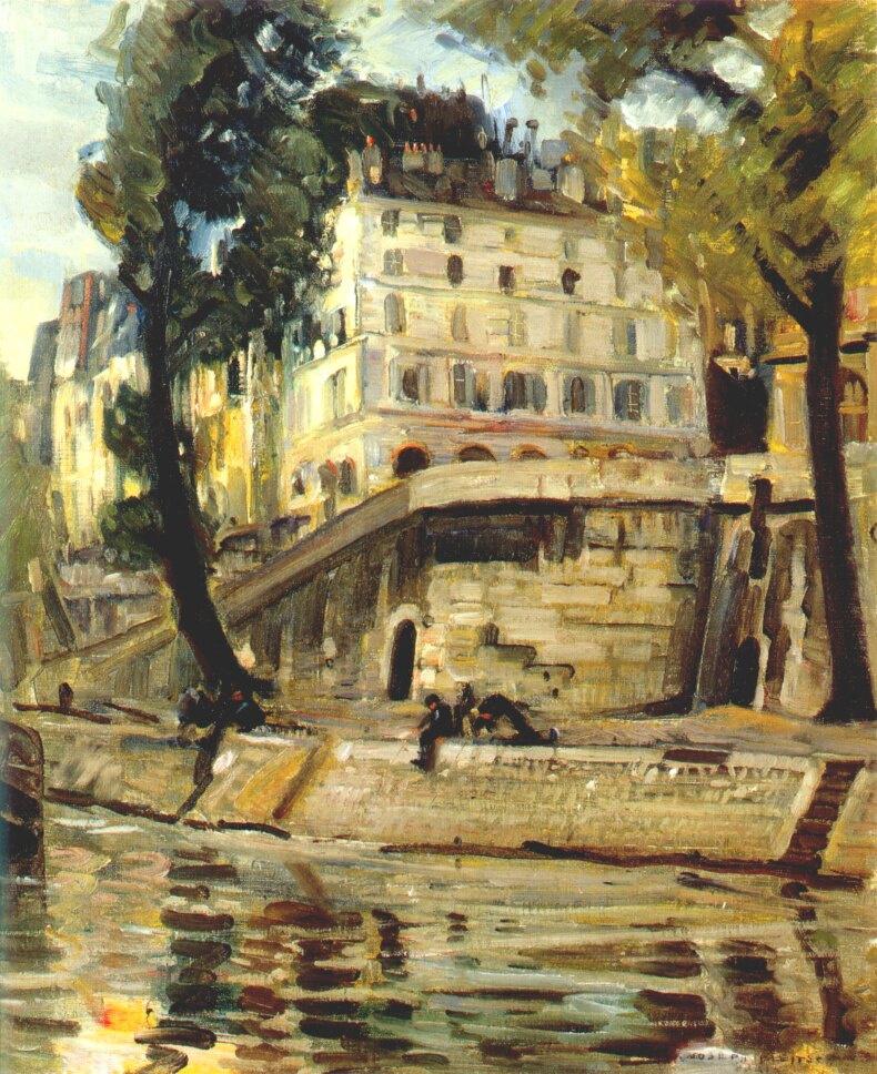Джозеф Клейтш. Париж