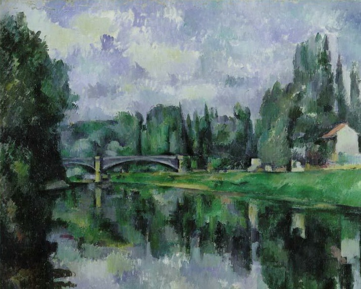 Paul Cezanne. The Banks Of The Marne