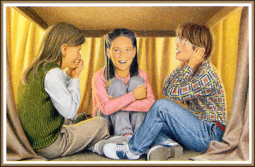Ник Баскет. Американская девочка Молли. Четвертая книга о Молли 04