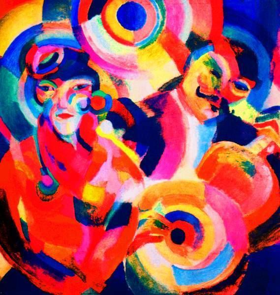Соня Делоне. Певец фламенко