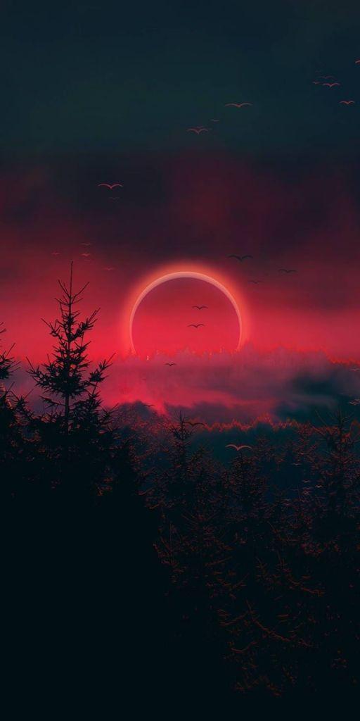 Edgar Degas. Red Eclipse