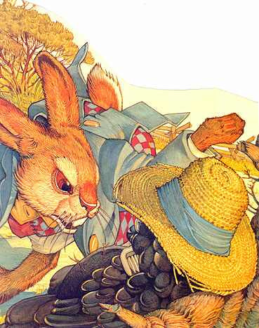 Дон Дэйли. Иллюстрация к сказке Братец Кролик 029