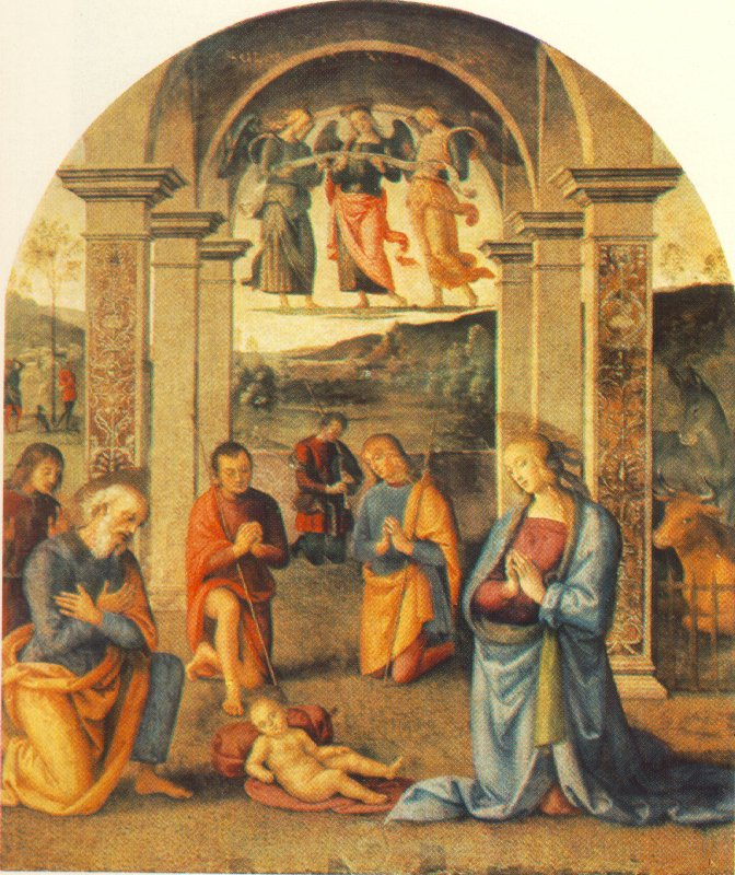 Pietro Perugino. Presepio