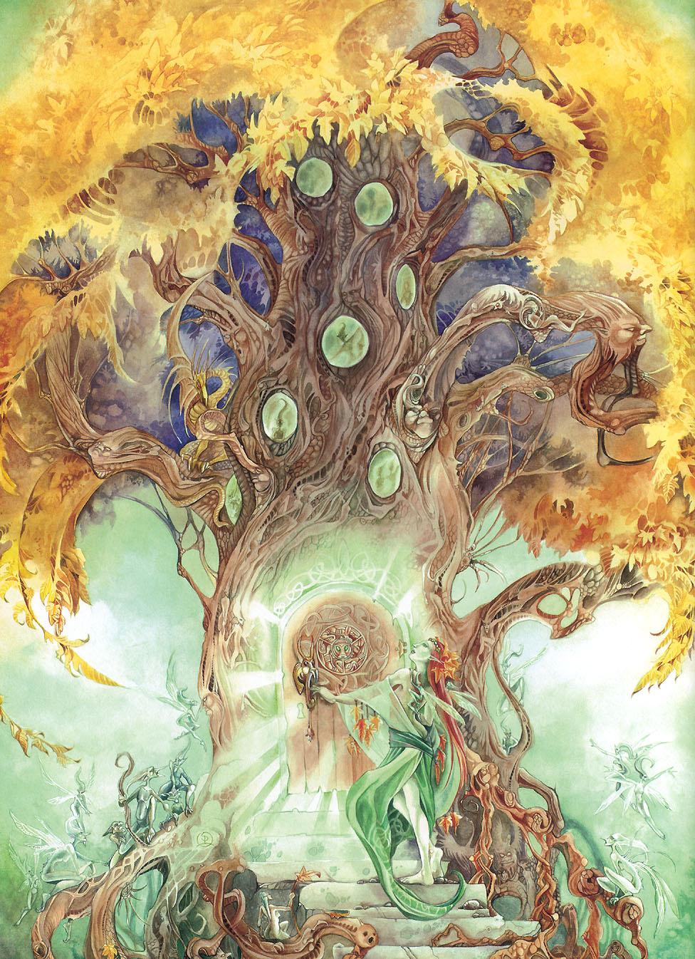 Stephanie Puy-Moon Lowe. Magic tree