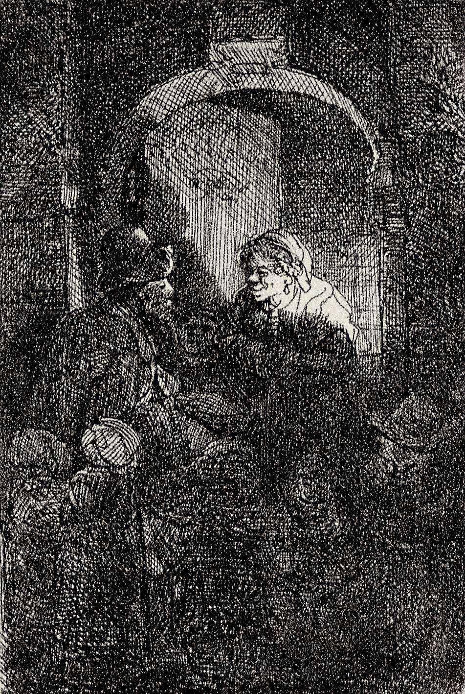 Rembrandt Harmenszoon van Rijn. School teacher