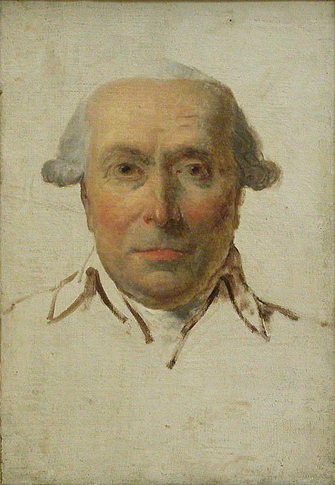 Jacques-Louis David. Filippo Mazzei