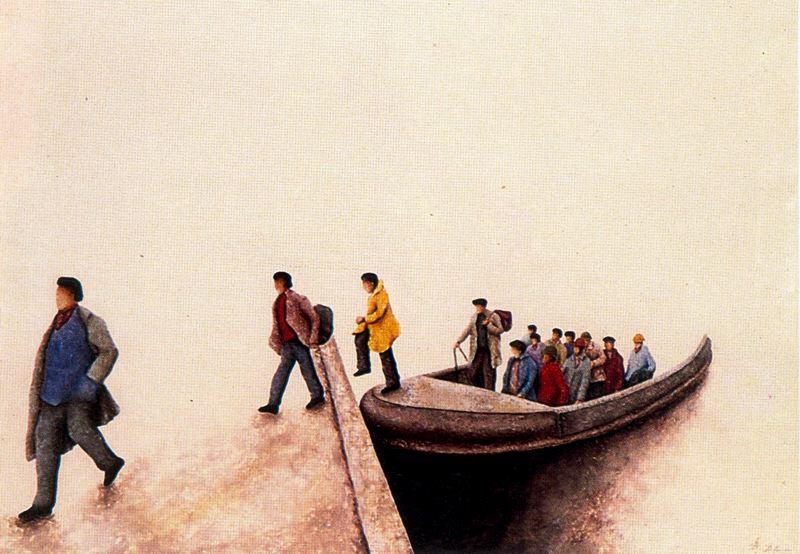 Дионисио Бланко. Лодка