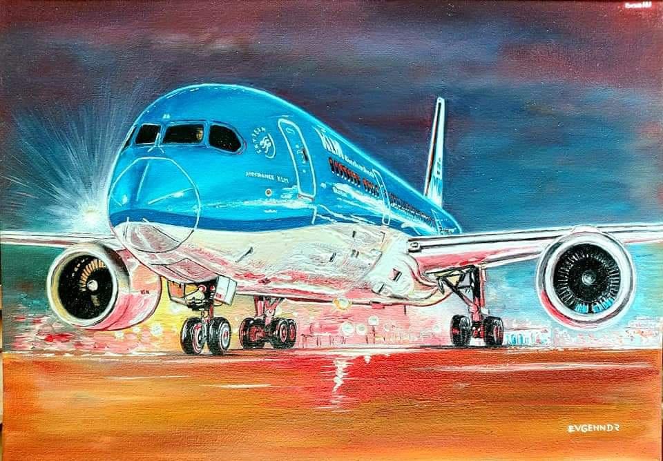 "Aviation Art. ""Ирония судьбы"""