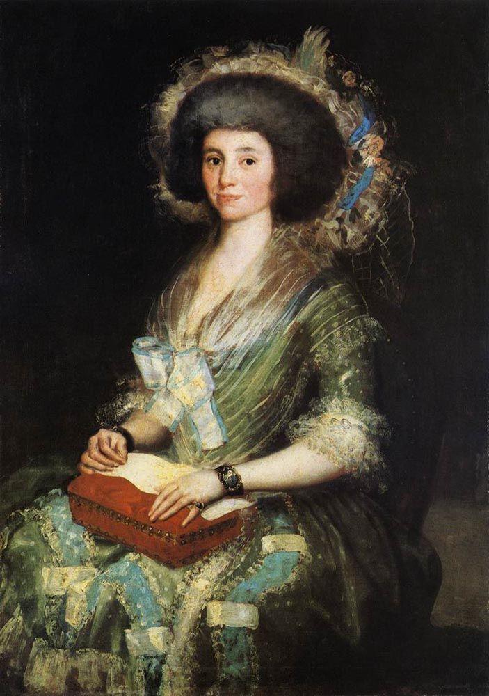 Франсиско Гойя. Портрет жены Хуана Агустина Бермудеса