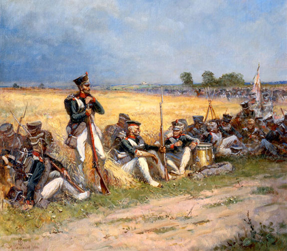 Aleksandr Chagadaev. On the field of Borodino