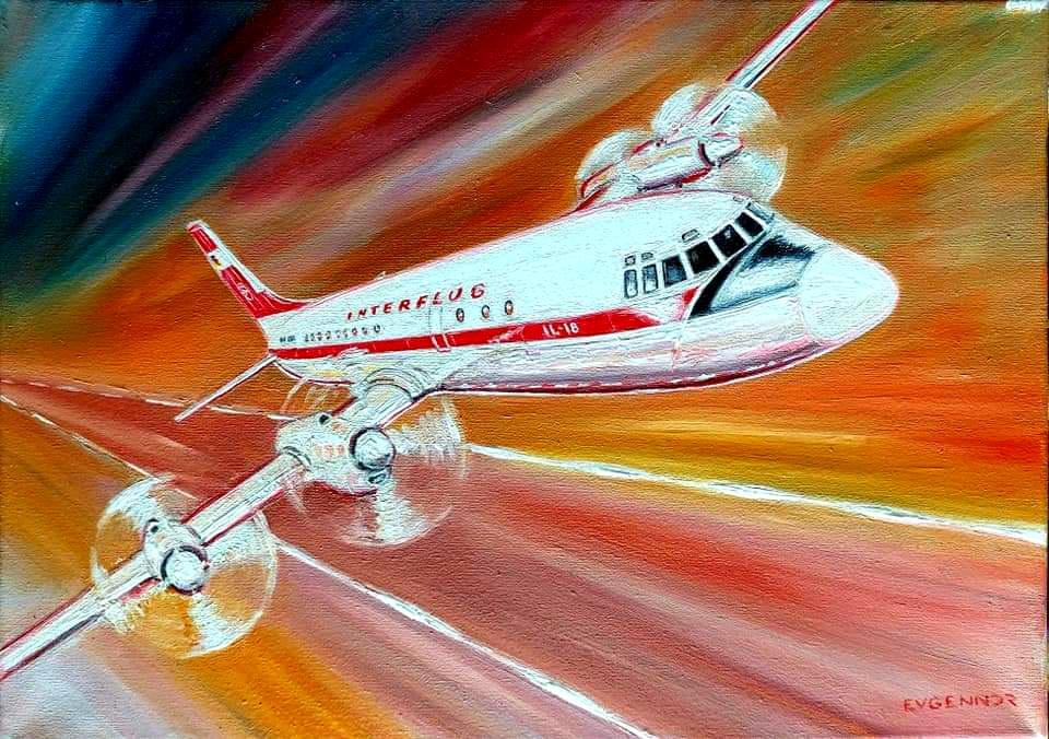 """Aviation Art. """"Стремительность"""""""