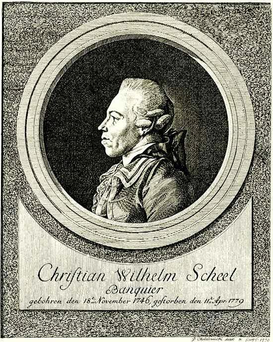 Даниэль  Николай Ходовецкий. Портрет банкира Кристиана Вильгельма Шееля