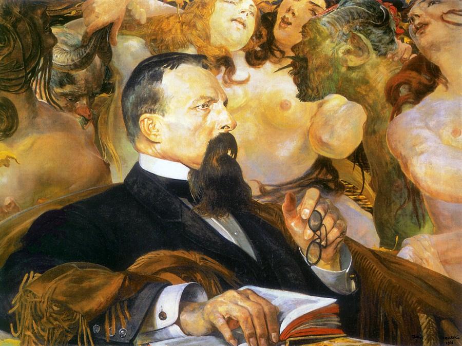 Jacek Malchevsky. Portrait of Edward Rachinsky