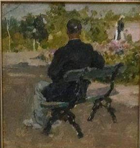 Николай Андреевич Шелюто. Уголок парка