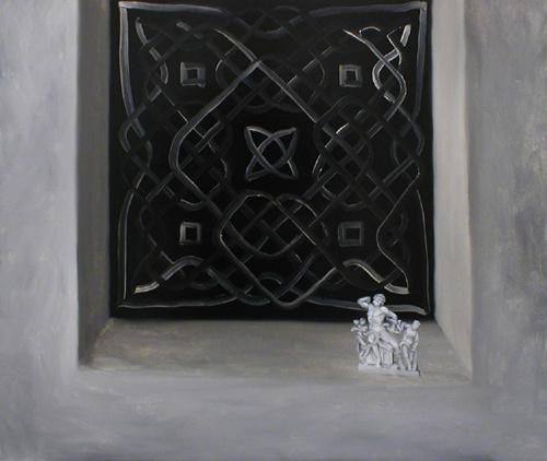 Кристоффер Зеттерстранд. Окно со статуэткой