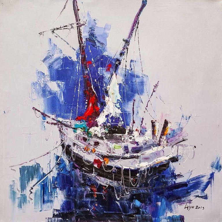 (no name). Fishing schooner N2