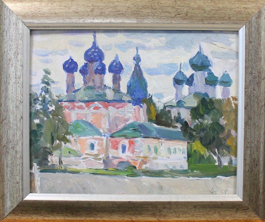 Orest Georgievich Betekhtin. Cathedrals in Uglich
