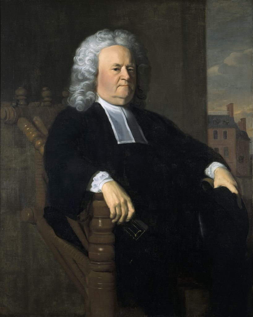 John Singleton Copley. Edward Holyoke