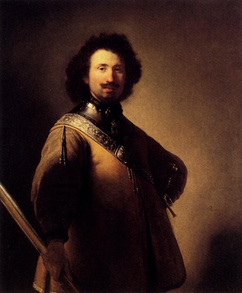 Rembrandt Harmenszoon van Rijn. Portrait of Joris de Calleri