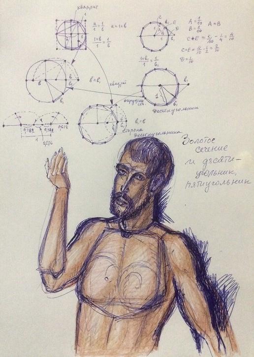 Vladimir Petrovich Chernov. Formula of the Golden Section