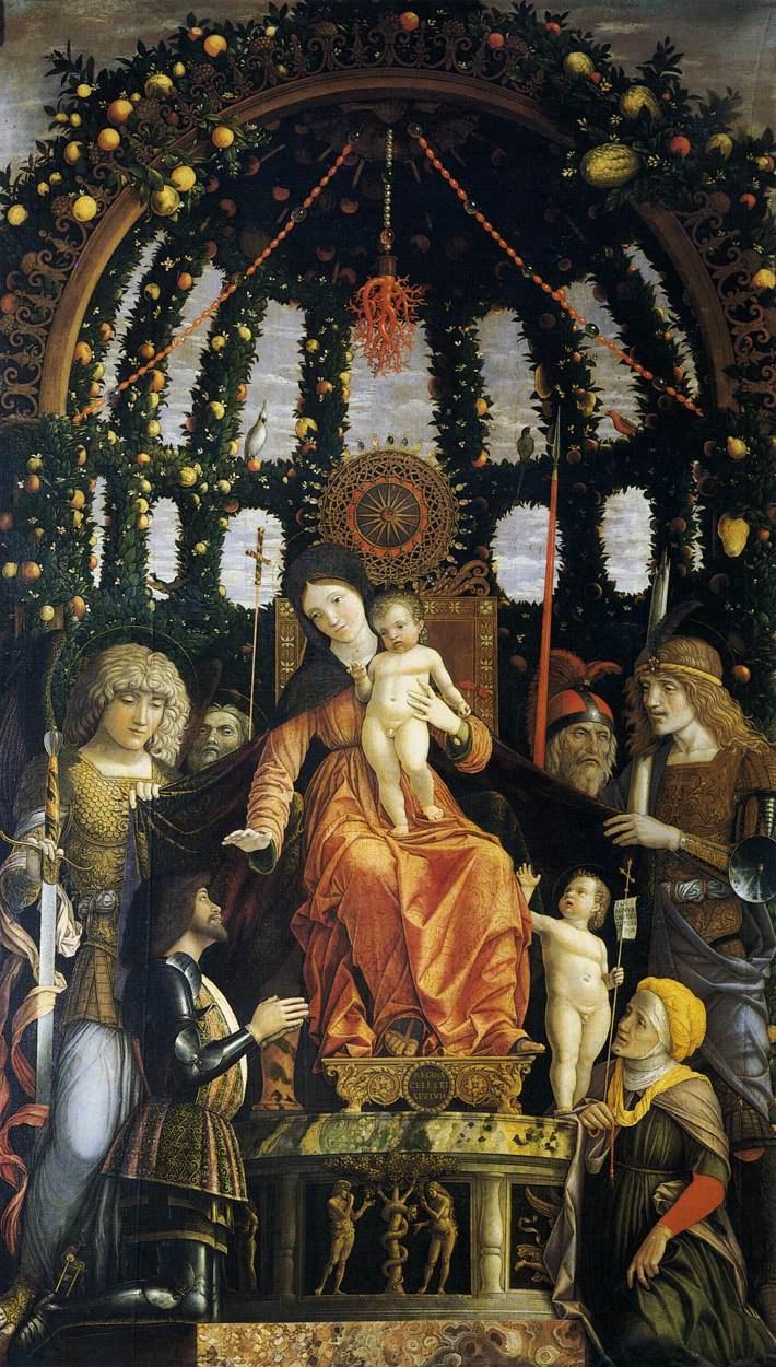 Andrea Mantegna. Madonna della Vittoria