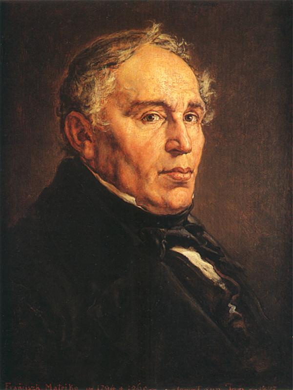 Ян Матейко. Портрет Францишека Матейко, отца художника