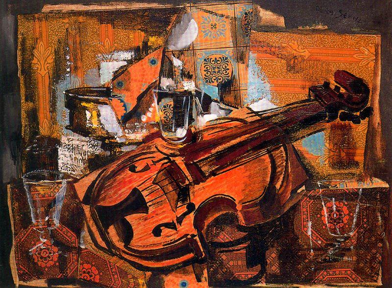 Ismael Gonzalez de la Serna. Violin