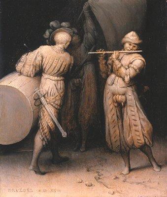Питер Брейгель Старший. Три солдата