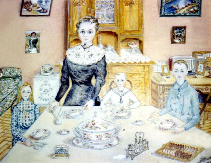 Elfrida Martsovna Mills. Old Moscow. Childhood