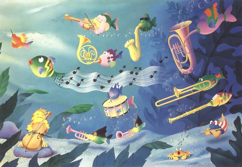 Stuart Moskovitz. Symphony of the sea