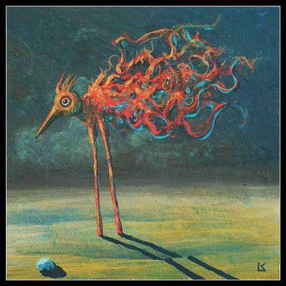 Лешек Костуй. Пустынная птица