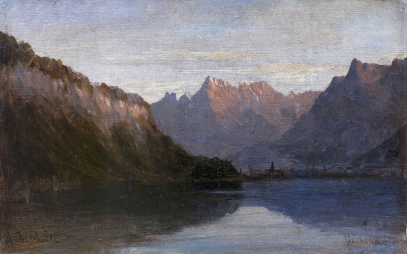 Алексей Петрович Боголюбов. Женевское озеро