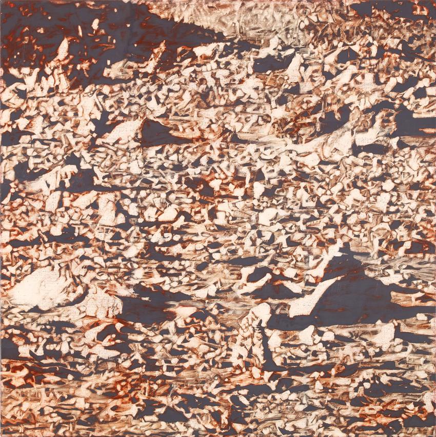 Gilad Efrat. Stones and sand (Mars)