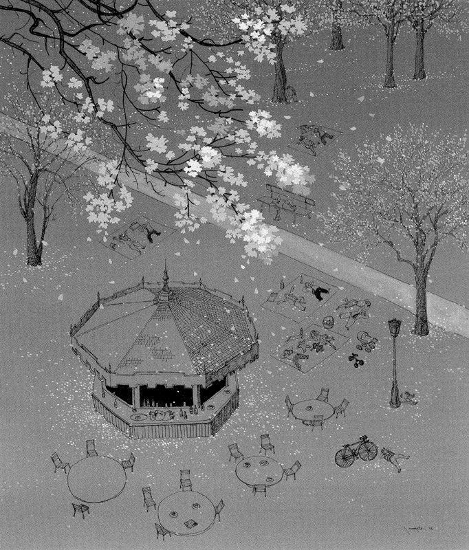 Хиро Ямагата. Столики
