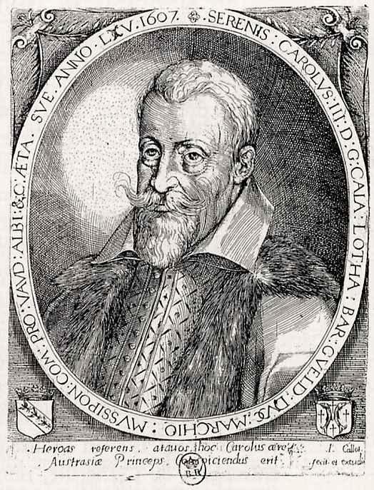 Жак Калло. Портрет Карла III, герцога Лотарингского