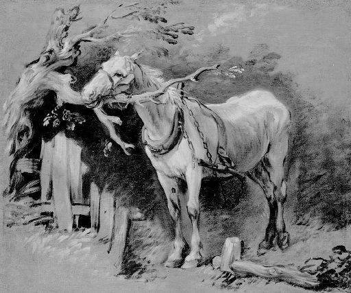 Томас Гейнсборо. Старая лошадь