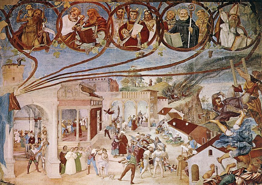 Лоренцо Лотто. Истории Святой Варвары