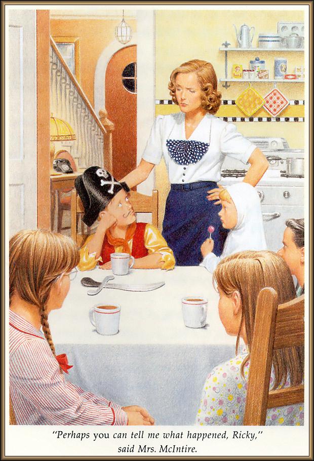 Ник Баскет. Американская девочка Молли. Первая книга о Молли  11