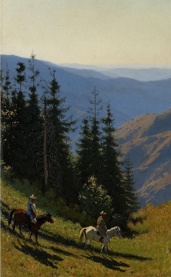 Vasily Vereshchagin. In the Alatau mountains