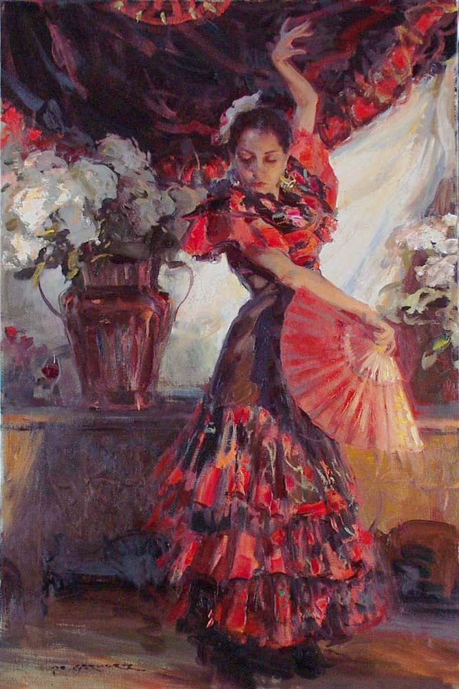 Даниэль Герхартц. Фламенко